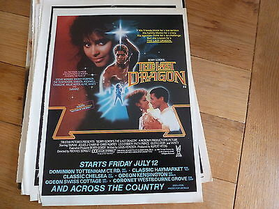 The Last Dragon - Berry Gordy -  Full Page Magazine Ad