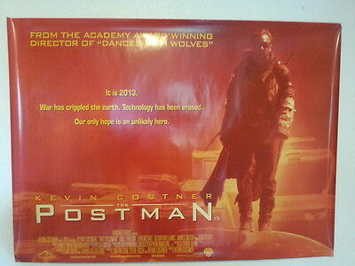 The Postman - Kevin Costner, Will Paton -  Original UK Quad Poster - 1997