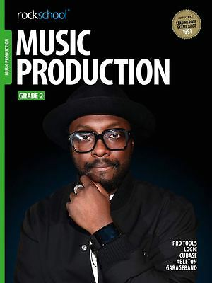 Rockschool Music Production Grade 2 (Book/Audio Download) BRAND-NEW