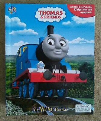 Thomas and Friends ' My Busy Books ' With Playmat and 12 Figurines