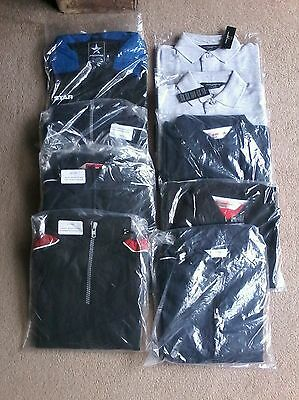 Brand new joblot of Mens/boys clothes (wind jackets, polo shirts)
