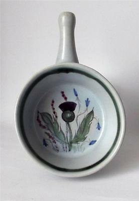 Buchan Pottery Scotland Thistle Pattern Egg Baker in Stoneware with Free UK P&P