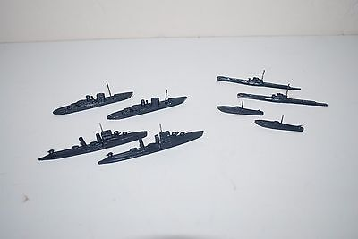 Rare Vintage WWII Military Diecast Ships Operation Room Models Mapping Tools ?