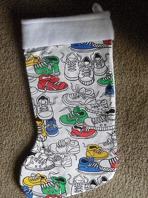 Lots of Sneakers  Christmas Stocking