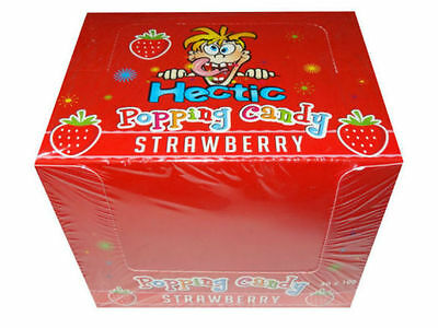 Hectic Popping Candy - Strawberry flavor - 2 x 10g Packets