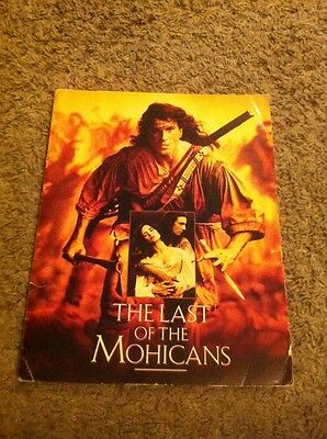 The Last Of The Mohicans Film Promo Pack With Pictures
