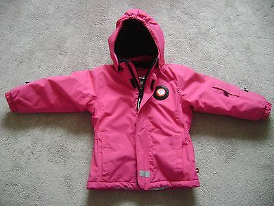 Girls Lego Wear pink coat 5 - 6 years - waterproof & very warm for winter