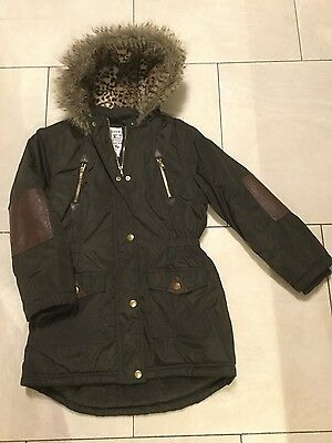 Girls Winter Coat Age 9-10 Immaculate Condition