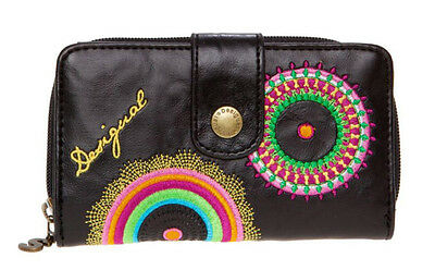Desigual Women Mone Audrey Wallets color: black marron