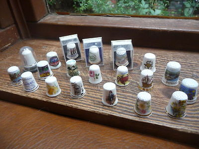 Collection Of 20 Assorted Thimbles
