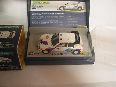 Scalextric C3591A Peugeot 205 T16 Timo Salonnen  Mint Boxed