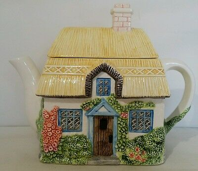 Western House The Village Cottage teapot by Annie Rowe