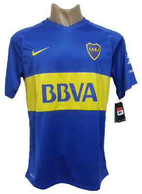New 2016 Boca Juniors Home Soccer Jersey Youth Sizes
