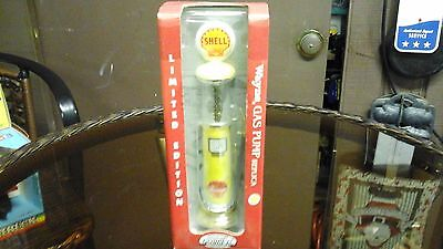 New MIB 1996 Gearbox Wayne SHELL Gravity Gas Pump Limited Edition, Die Cast