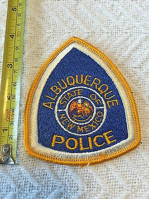 Albuquerque NM New Mexico Department Police Patch Large Official Unused!!!