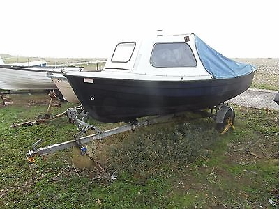 Orkney Coastline 14 Plus Fishing boat and Trailer