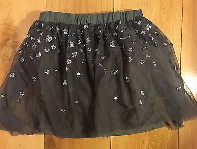 Zara girls. Sparkly tu-tu embellished christmas skirt. Age 9-10