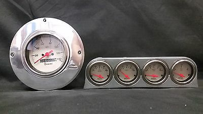 1949 1950 Ford Car Gauge Cluster Shark