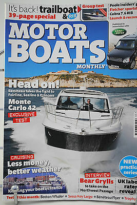 Original 2010 May MOTOR BOATS Monthly Magazine / Cruising Dreams 144 Pages