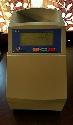 Royal Sovereign (FS-3D) – Digital 4-Row Fast Coin Sorter /Counter tested