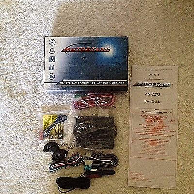 Directed AS-2272 Two Remote Auto Start Car Engine Starter Complete Kit