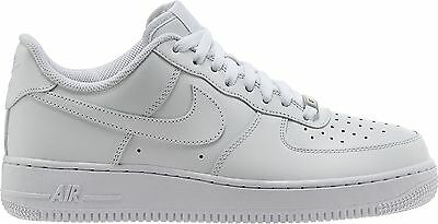 quality design d039a b1e2f NIKE AIR FORCE 1 Low Mens Classic Og White All Leather 315122-111 100%  Authentic