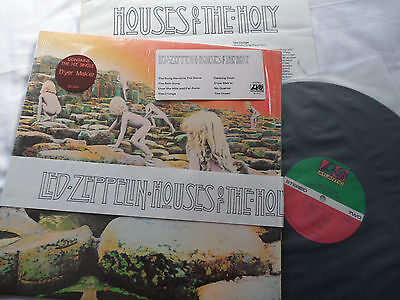 LED ZEPPELIN Original Houses of Holy LP in SHRINK ***LUDWIG MASTER*** SD-7255