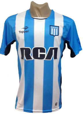 Racing Club De Avellaneda Home Soccer Jersey 2016 Youth Sizes
