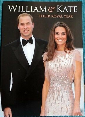 **BRAND NEW AND MINT CONDITION** 'William and Kate: Their Royal Year' Book