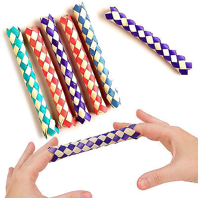 Fun Toys - Chinese Finger Trap Toys Girls Boys Party Loot Bag Free Delivery