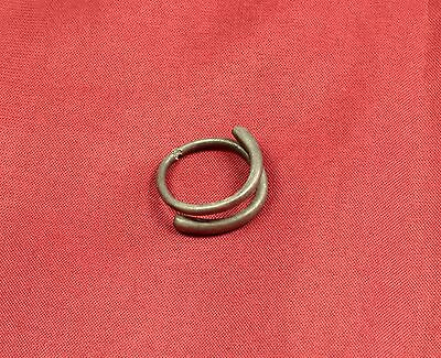 Rare Ancient Celtic Silver Finger Ring