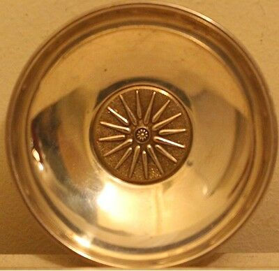 Vintage Greek Macedonian Vergina Star mini 925 Silver Tray Alexander the Great
