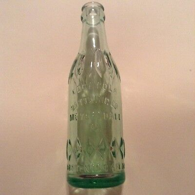 RARE  Coca Cola Straight Side Bottle Meyersdale, Pa