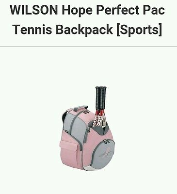 WILSON Hope Perfect Pac Tennis Backpack [Sports]