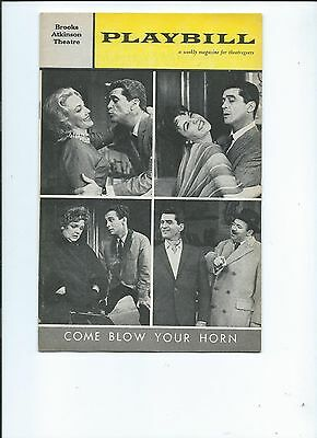 "Playbill-""Come Blow Your Horn""-1962-Brooks Atkinson Theatre"