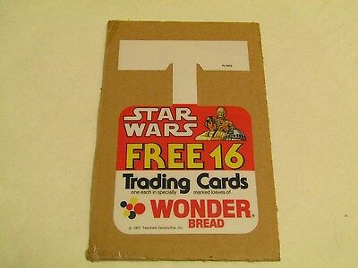 Wonder Bread Star Wars Shelf Hanger