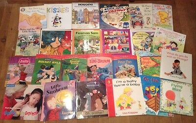 Bulk Children Picture Books x 25 For Young Readers Boys/ Girls Education Set