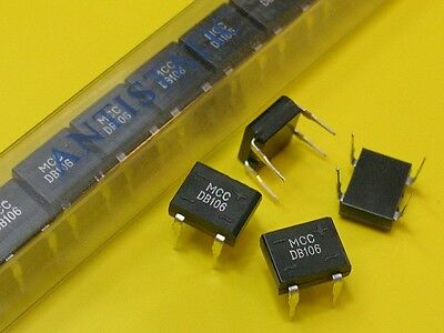 [100 pcs] Bridge Rectifier DB106 1A 800V MCC