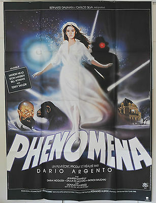 Magnificent Original Phenomena Poster Never Hanged French Dario Argento Cinema