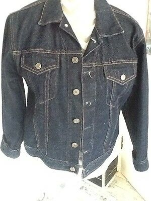 Girls Gap Denim Jacket Size Tg Xl (12)