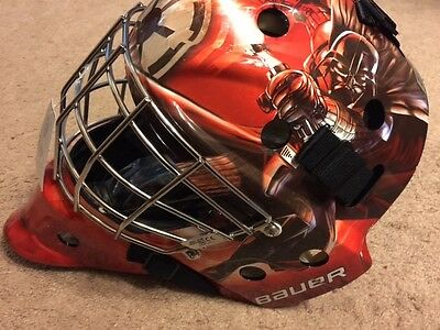 NEW Bauer NME3 - Star Wars - Darth Vader Goalie Mask - Adult Size - Rouge One