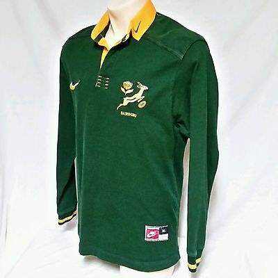 VTG Nike South Africa Springboks Rugby Jersey Authentic 90's SA Mens XL
