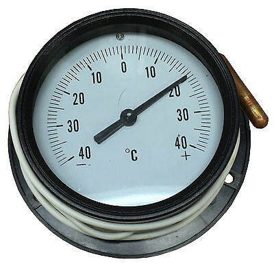Coolroom, Fridge Round Analog 105Mm Thermometer -40 To +40 Degrees - Tmt3Pc-A