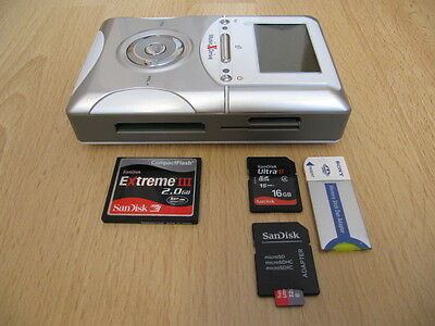 160GB XDrive KX-707 6in1 Multi_Card Portable EZ PhotoBank BACKUP