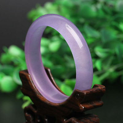 (15% OFF) 56 mm- Certified Natural Icy Jadeite Emerald Jade Bangle《Grade A》