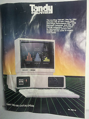 1984 Tandy TRS-80 Catalogue