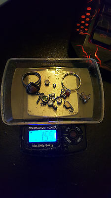 15.5 grams sterling silver scrap or wear