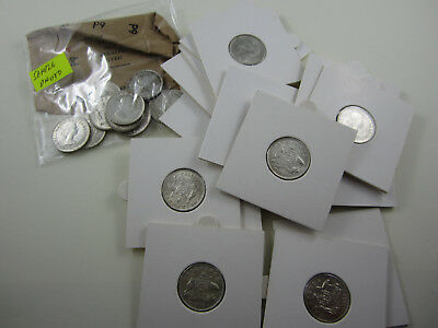 1958 Sixpence Australia - Choice coins from a mint roll. Ideal coin for your set