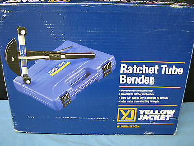 Ritchie Yellow Jacket 60331 Ratchet Hand Tubing Bender - NEW **Free Shipping**