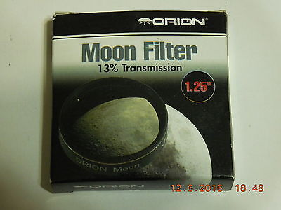 Orion #05662 1.25-Inch 13% Transmission Moon Filter